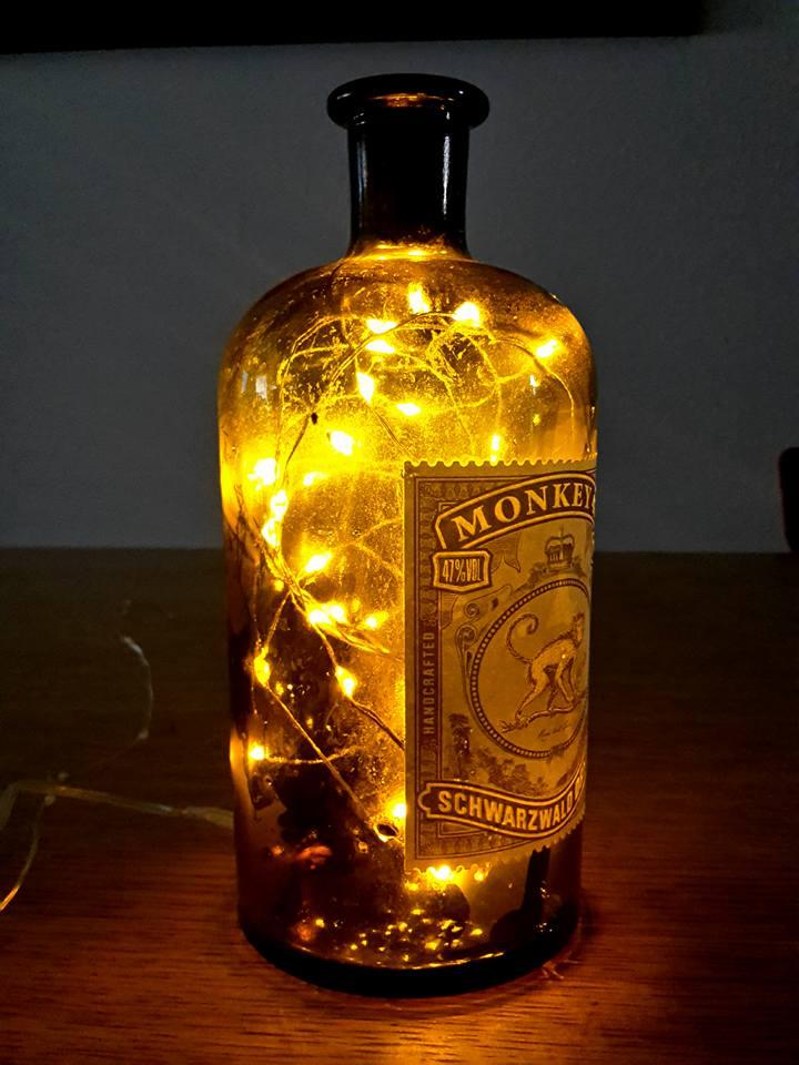 diverse Flaschenlampen